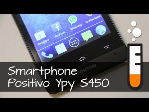 Positivo Ypy S450 Smartphone - Resenha Brasil (13:22)