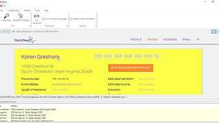 How to perform Reverse Phone lookup using Webharvy | Thatsthem.com | Keyword scraping