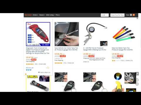 How to dropship products found on Amazon on eBay and find product sourcing on Alibaba