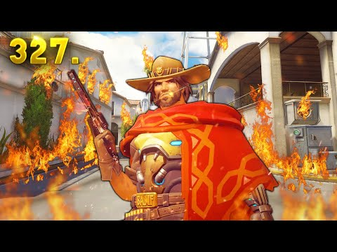 Best McCree Play in the World..?! | Overwatch Daily Moments Ep. 327 (Funny and Random Moments)