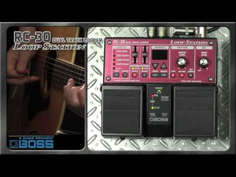 RC-30 Loop Station [BOSS Sound Check]
