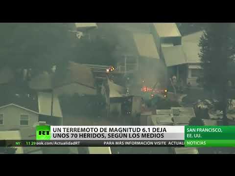 Vídeo: La región de San Francisco sufre el mayor sismo en 25 años