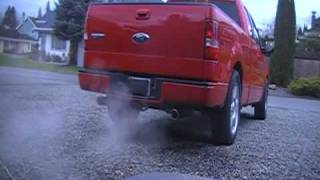 2007 ford f150 fx2 true duals straight pipe exhaust
