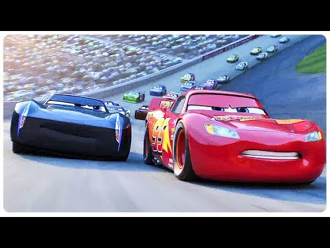 "Cars 3 ""Lightning McQueen Vs Jackson Storm"" (2017) Disney Pixar Animated Movie HD"