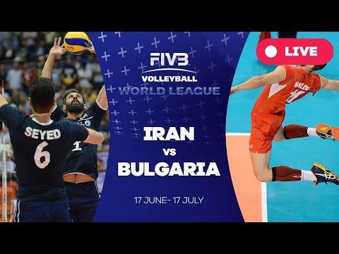 Iran v Bulgaria - Group 1: 2016 FIVB Volleyball World League
