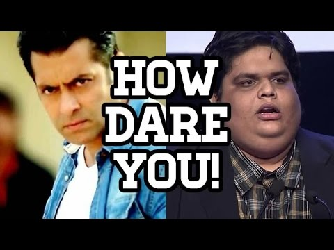 Angry Salman Khan THREATENS AIB'S Tanmay Bhat | EXCLUSIVE STORY | 9XE The Show
