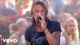 Keith Urban Never Comin Down Live From The Today Show