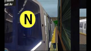 Copy of OpenBVE Stream NYCT (N) R211  Astoria  to Coney Island