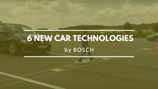 6 new car technologies by Bosch