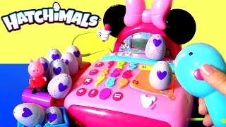 Hatchimals CollEGGtibles Egg Surprise by Spin Master | Minnie Mouse Cash Register Toy by Funtoys