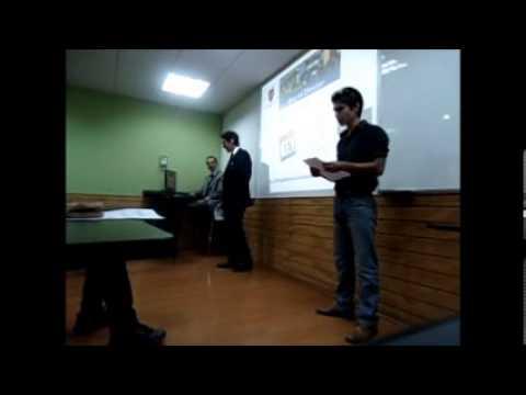 Discursos de Bienvenida de Centro de Alumno de Derecho