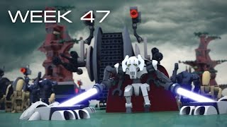 Building Kashyyyk in LEGO - Week 47: Building & BUILDING!