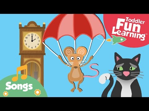 Hickory Dickory Dock | Nursery Rhyme For Toddlers video