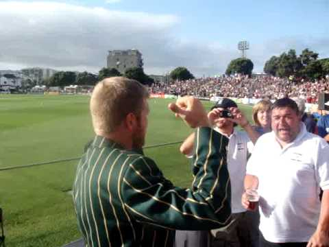 Barmy Army in wellington 2008 -