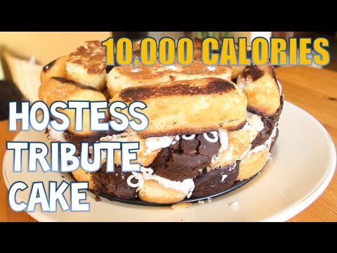 Furious Pete - Hostess Tribute Cake (10,000 Calories)