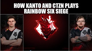 How CTZN.G2 really plays with Kanto.G2 | Rainbow Six Siege