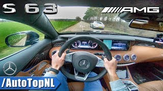 Mercedes Benz S Class Coupe S63 AMG POV Test Drive vs AMG S63 Coupe 2018 by AutoTopNL