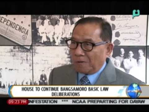 NewsLife: House to continue Bangsamoro Basic Law deliberations || Sept. 29, 2014
