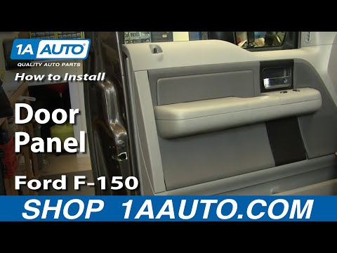 How To Install Replace Door Panel Ford F-150 04-08 1AAuto.com