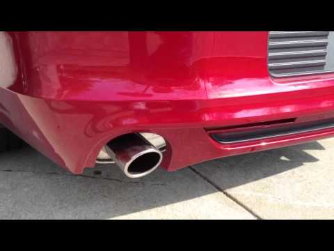2013 MUSTANG ROUSH EXHAUST VS STOCK EXHAUST