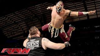 Kalisto vs Kevin Owens Raw October 12 2015