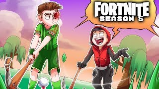 FORTNITE GOLF MASTERS & MARCEL HAS NEW FRIENDS!!! - Fortnite Funny Moments