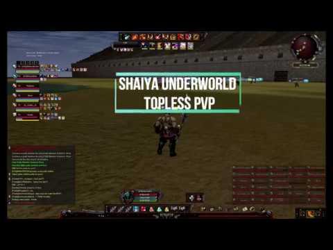 Shaiya Underworld topless pvp 2018