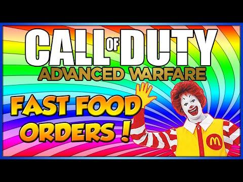 Taking Fast Food Orders on Call of Duty: Advanced Warfare! (#7)