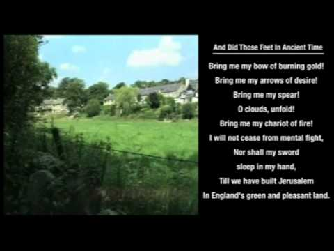 And Did Those Feet In Ancient Time hymn with on-screen LYRICS