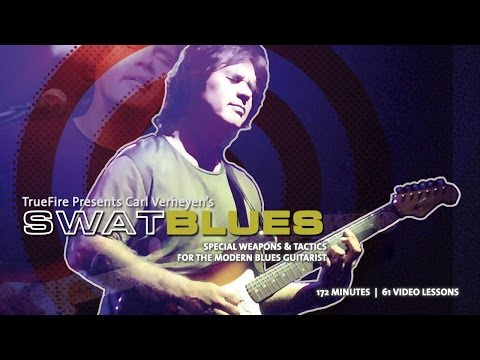 SWAT Blues - Carl Verheyen - Guitar Lessons - Introduction