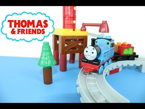 Thomas & Friends Mega Bloks Go, Thomas, Go! video