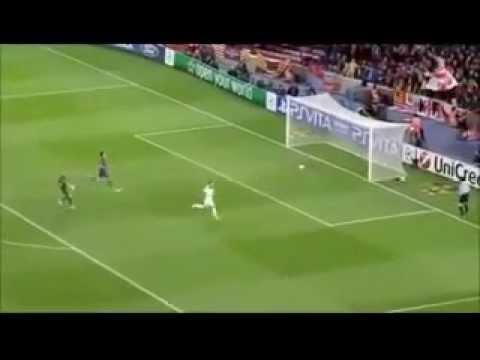 Fernando Torres Goal Vs Barcelona...gary Neville's Orgasm!!! video