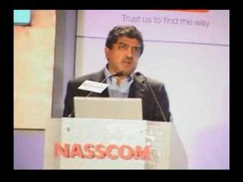 Nandan M. Nilekani CEO,MD, Infosys Tech.