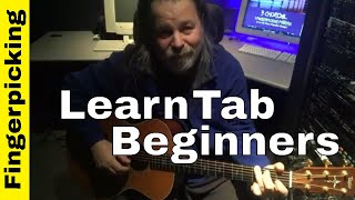 How to Read Guitar Tabs for Fingerstyle-OMG!!! TOO EASY!