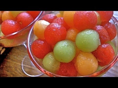 Drunken Melon Balls Recipe