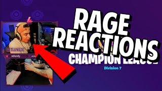 Killing Streamers in Champion Division with their RAGE Reactions...