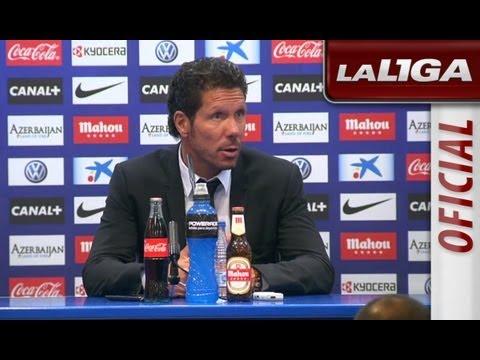 Rueda de Prensa de Simeone tras el Atlético de Madrid (1-2) FC Barcelona - HD