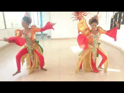 Srilankan traditional dance troupe shashilaa dance troupe