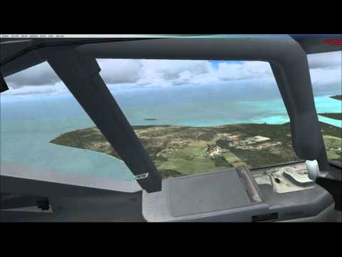 Landing at Guam Intl  after solar eclipse 2016