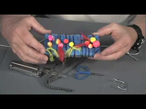 How to tie an Egg Loop for Steelhead Fishing