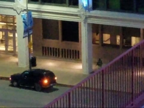 Dramatic Footage Shows Dallas Officer Shot