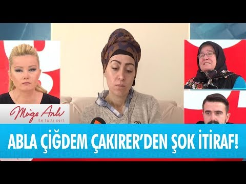 Çiğdem Çakırer cinayeti ağzından kaçırdı!  - Müge Anlı ile Tatlı Sert 21 Ocak 2019