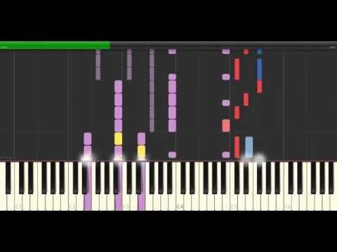 Raiko - Alive ( Naruto Ending ost ) Piano Tutorial