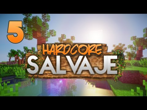 HARDCORE SALVAJE: NO QUIERO SUSTOS!! | Episodio 5 | MINECRAFT MODS SERIE
