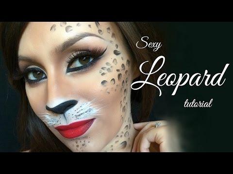 Sexy leopard l Halloween tutorial