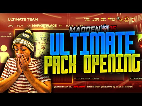 Madden NFL 15 Ultimate Team - ULTIMATE PACK BUNDLE OPENING! SEARCHING ...