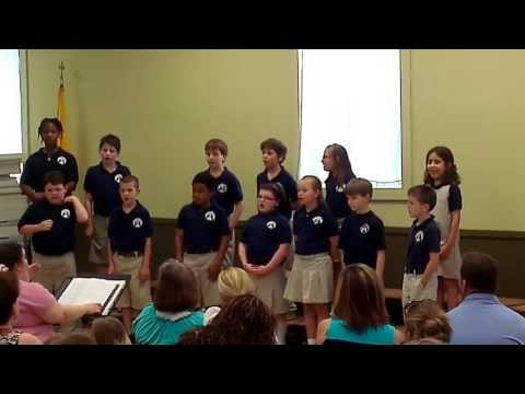 """The Rainbow Connection"" performed by the Saint John Catholic School 3rd & 4th Grades"