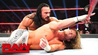 Dolph Ziggler vs. Drew McIntyre: Raw, Dec. 10, 2018