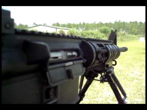 Colt M16 with 22lr kit full auto compilation