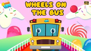 Wheels On The Bus | | Animation Rhymes For Kids | Funny Kids | Kids Songs & Kids Rhymes